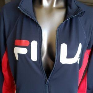 Fila Logo Track Jacket